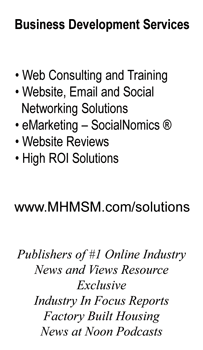 Bob Stovall's MHMSM Business Card back