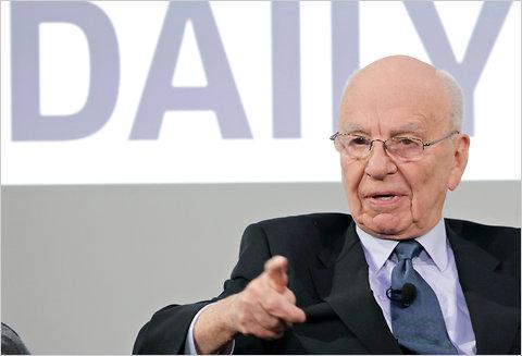 Rupert Murdoch announces launch of The Daily tablet newspaper