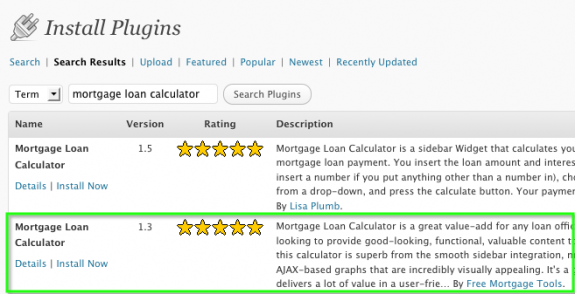 Choosing which Mortgage and Loan Calculator to add to your site