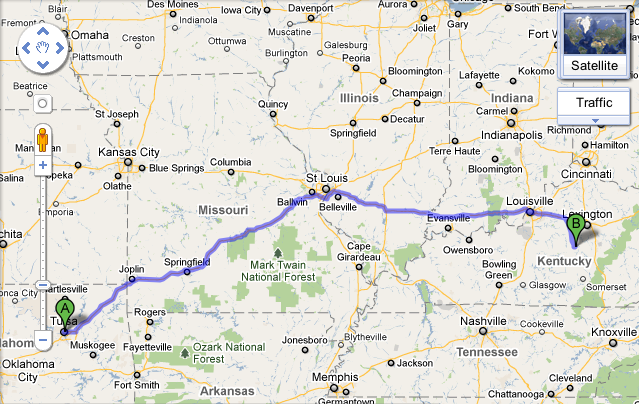Heading Home from Tulsa
