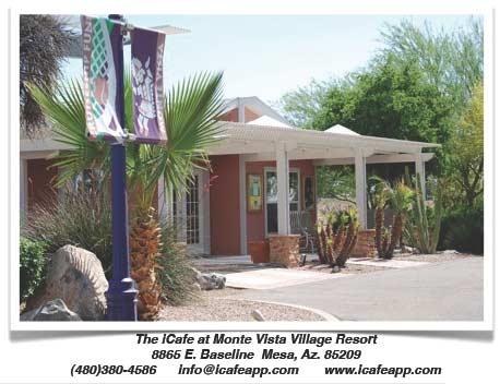 iCafe at Monte Vista Village Resort in Mesa, Arizona