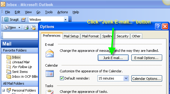 Whitelisting an Email Domain in Outlook, Page 2