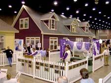 """Suzanne Felber """"Purple Cow"""" home"""