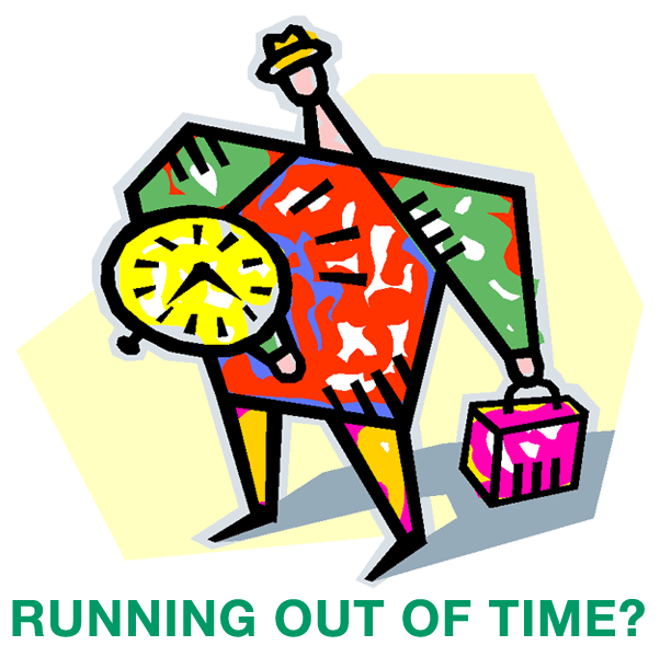 Running Out of Time?