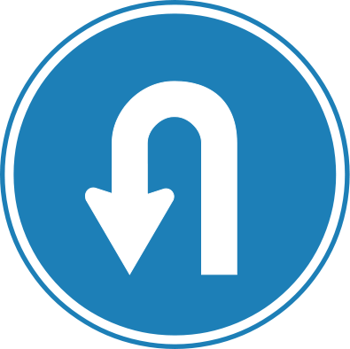 u-turn sign credit Wikimedia Commons posted on Manufactured Home Marketing Sales Management MHMSM.com MHProNews.com