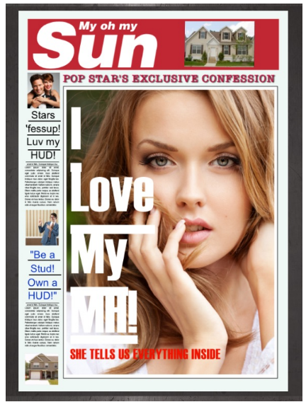 I Love My Manufactured Home Issue of My Oh My the Sun