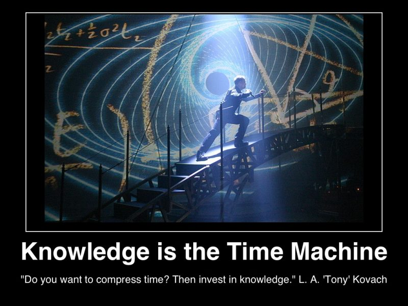 knowledge-is-the-time