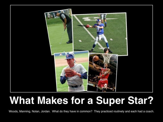 What Super Star Athletes Have in Common inspirational poster on MHProNews