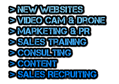 WebsitesVideoDroneMarketingPRSalesTrainingConsultingContentRecruitingManufacturedHome