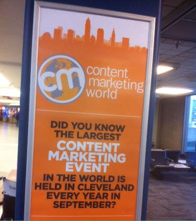content-marketing-world-ad-cleveland-ohio-airport-terminal-cutting-edge-marketing-sales-blog-mhpronews-com