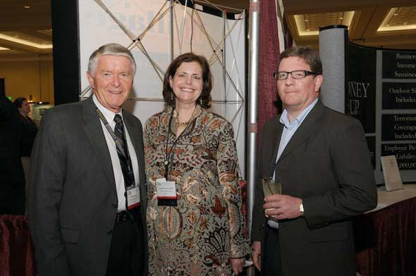 Erv Bontrager (Commodore) Homes, Suzanne Felber (me!), Dr Harold Gross - keynote speaker from Thursday, Photo courtesy MHI, Lisa Stewart Photography