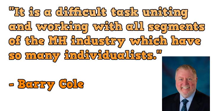 BarryCole-MHIS-RVMHHallofFame-DifficultTaskUnitingWorkingAllSegmentsMHIndustrySoManyIndividualsists-postedIndustryVoicesMHProNews-