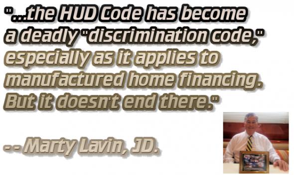 MartyLavinHUDCodeDeadlyDiscriminationCode-IndustryVoicesMHProNews