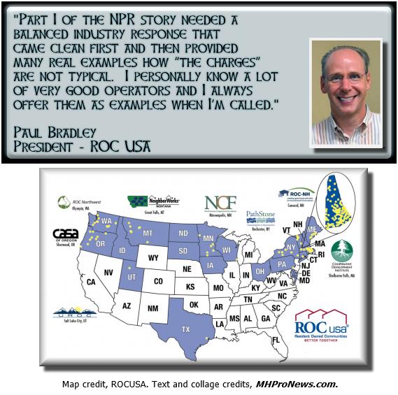 PaulBradleyROCUSAReactstoNPR-MobileHomeParkOwnersCanSpoilAffordableAmericanDream-IndustryVoicesMHProNews-