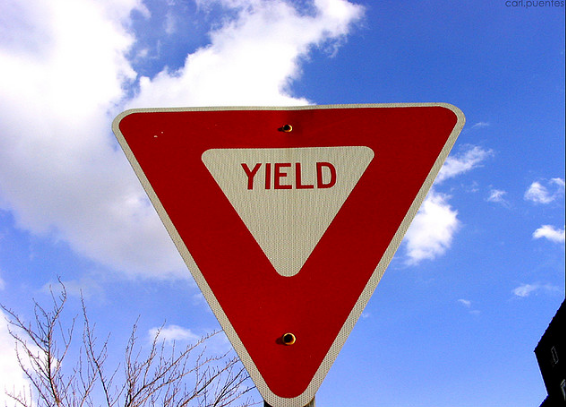 Hate_can_Yield_to_Love__and_blue_skies_carlpuentes_Flickr_yield_sign_posted_on_MHProNews.com_and_MHMSM
