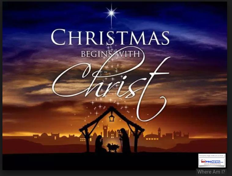 ChristmasBeginsWithChristWhereAmICreditINspirationBlogManufacturedHousingIndustryMHProNews