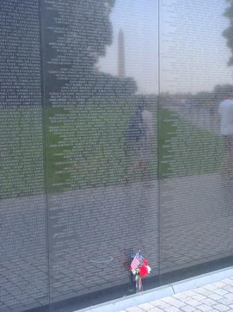 The Wall Vietnam War Memorial by ricardo.martins
