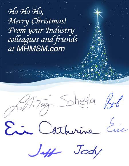 MHMSM.com Christmas Card 2010