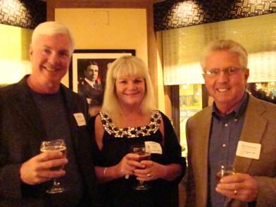 Kent and Jennifer Cooper with Ed Hartzler PEAK Manufactured Home Retailer Summit meeting