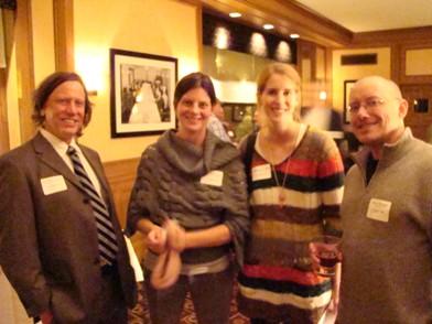 Derrick, Pam Wronski, Rebecca Joiner (Pam's sister) and Drew Peters PEAK Manufactured Housing Retailers National Summit