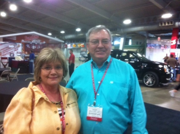 Danny and Tracie Daugherty from TX retailer and transporters