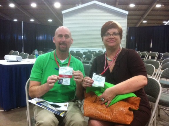 Jim Crenshaw and Kelly Edwards, PhD Elwood KS