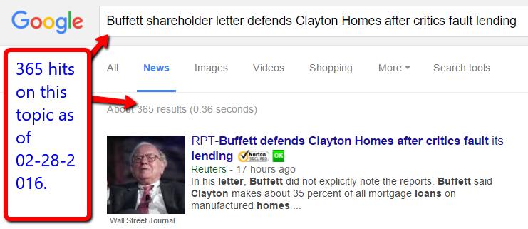 BuffettDefendsCriticsReuters-WallStreetJournal-GoogleAlerts-credits-posted-Masthead-MHProNews-com-