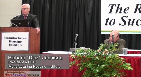 RichardDickJennisonPresidentCEOManufacturedHousingInstituteMHI-InsideMHVideo-MHProNews-com-