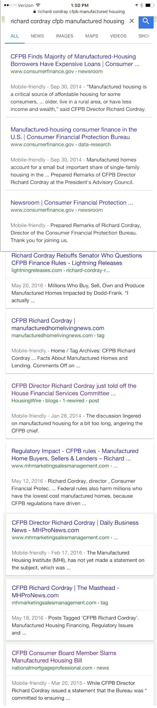 CFPBRichardCordrayManufacturedHomeLoanRegulations-postedMastheadBlog-MHProNews-