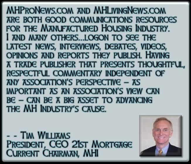 MHProNewsMHLivingNewsGoodCommunicationsResources-TimWiliams21stMortgage-MastheadBlogMHProNews-
