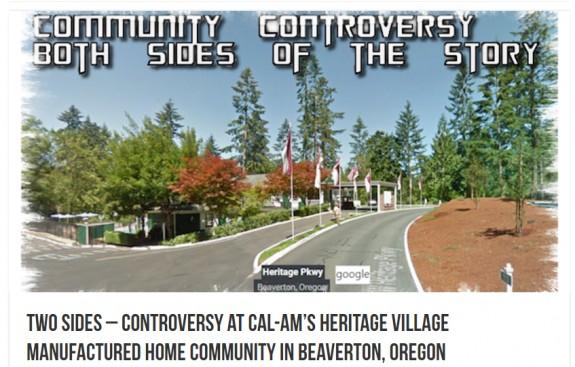 communitycontroversycalambeavertonor-heritagevillage-manufacturedhousingindustrynewsviews-postedmastheadblogmhpronews