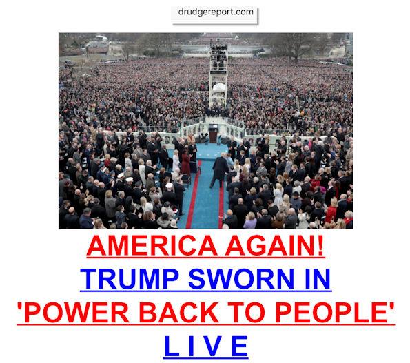AmericaAgainTrumpSwearingInMastheadBlogManufacturedHousingCommentaryMHProNews595x527