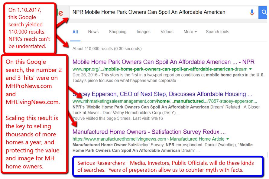 NPRMobileHomeParkOwnersCanSpoilAffordableAmericanDreamMHLivingNewMHProNews