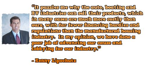KennyLipschutzPoorJobOfLobbyinginMHIndustry-postedMastheadCommentaryMHProNews-com