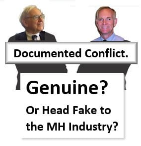 TimWilliamsCreditLinkedIn21stMortCorpCEOManufacturedHousingIndustryMHIChairmanWarrenBuffettBerkshireHathawayChairman