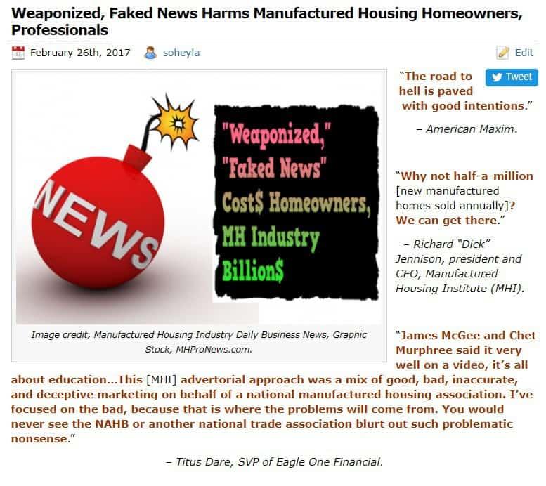 WeaponizedFakeNewsDailyBusinessNewsMHProNews
