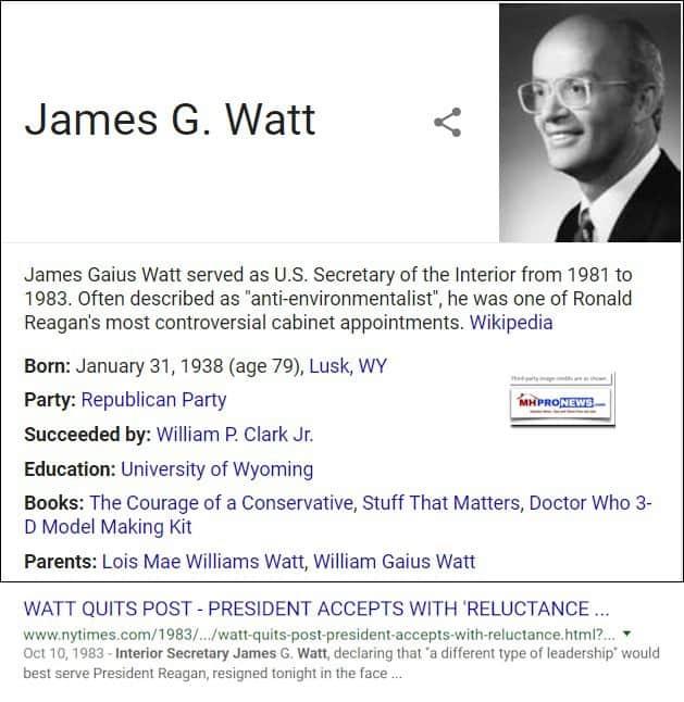 JamesGWattSecretaryInteriorWikipediaMastheadBlogDailyBusinessNews626