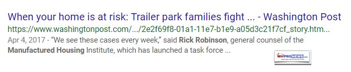 RickRobinsonMHIAttorneySVPWashingtonPostTrailerParkResidentsMHProNews