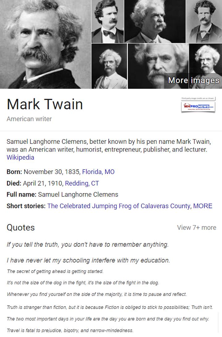MarkTwainSamuelClemnsWikipediaMastheadBlogMHproNews