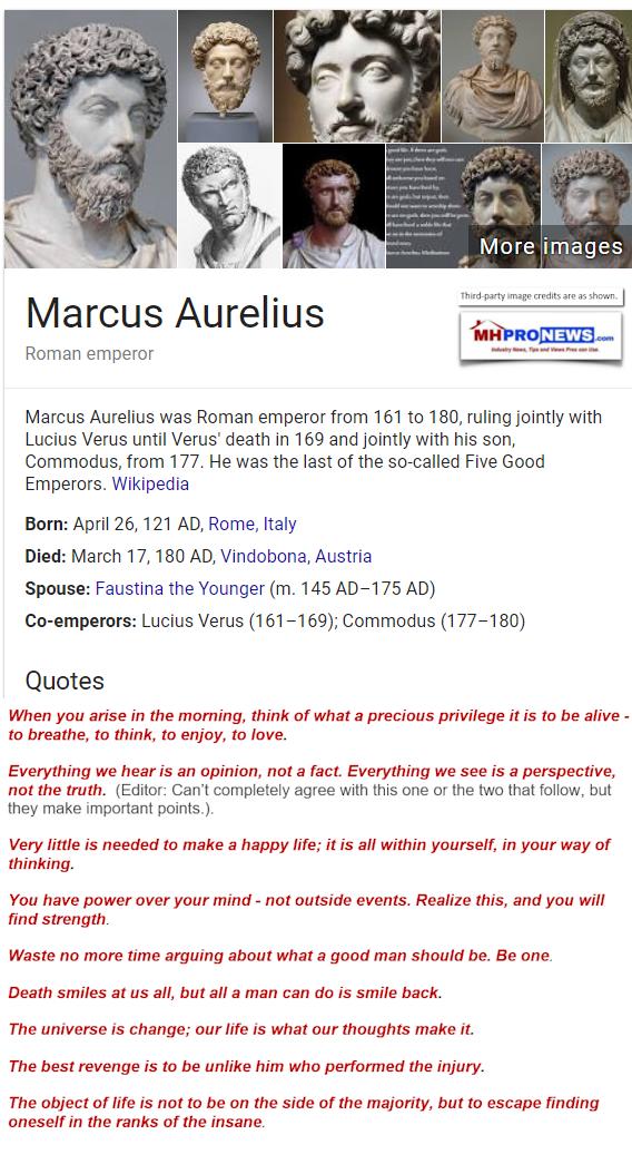 MarcusAureliusFactsQuotesWikipediaManufacturedHousingIndustryDaliyBusinessNewsMHProNews568x1045