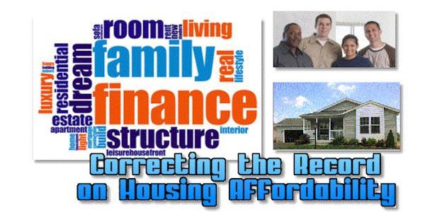 CorrectingtheRecordOnHousingAffordabilityManufacturedHomeLivingNewsMHLivingNews600