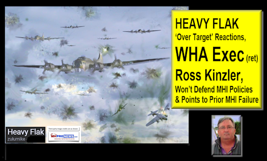 'Over Target' Reactions, WHA Exec (ret) Ross Kinzler, Won't Defend MHI Policies & Points to Prior MHI Failure