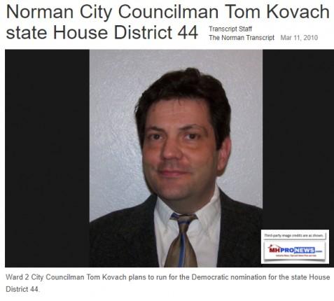 NormanTranscriptTomKovachWard2CityCouncilDemocraticCandidateMstheadBlogMHProNews