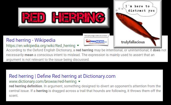 RedHerringDefinitionFalseArgumentDistractionMisleading