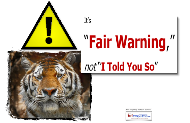 "It's ""Fair Warning,"" not ""I Told You So"""