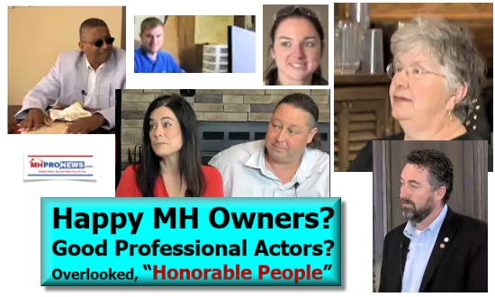 "Happy MH Owners? Good Professional Actors? Overlooked, ""Honorable People"""