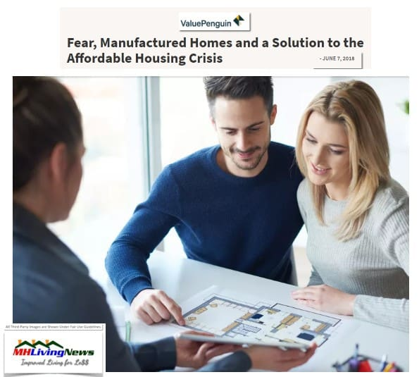 ValuePenguinFearManufacturedHomesAndASolutiontotheAffordableHousingCrisisManufacturedHomeLivingNews