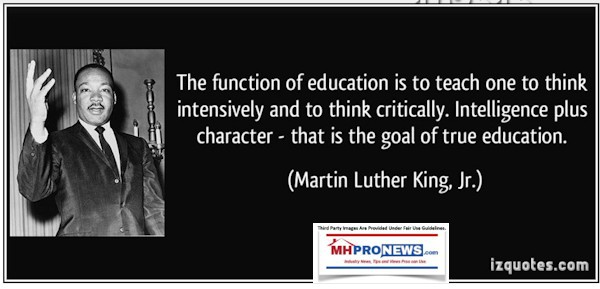 TheFunctionofEducationIsTeachOnThinkIntensivelyThinkCriticallyIntelligencePlusCharaterThatstheGoalofTrueEudcationMartinLutherKingJrMHProNEws