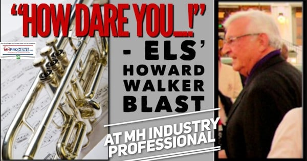 """How Dare You...!"" ELS' Howard Walker Blast at MH Industry Professional"