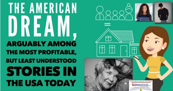 The American Dream, Arguably Among the Most Profitable, But Least Understood Stories in the USA Today